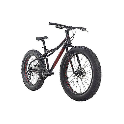 KS Cycling Mountainbike MTB Fatbike SNW2458 schwarz Mountainbikes