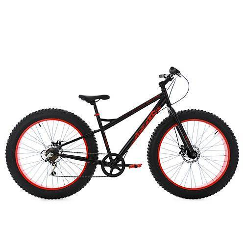 KS Cycling Mountainbike MTB Fatbike SNW2458 Mountainbikes schwarz