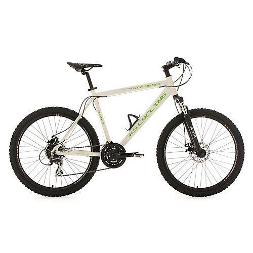 KS Cycling Mountainbike Hardtail 24 Gänge GTZ 26 Zoll weiß-grün Mountainbikes