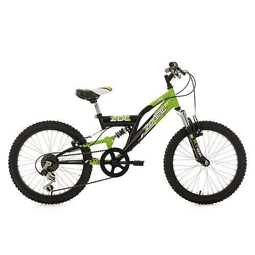 KS Cycling Kinderfahrrad 20'' Zodiac RH 31 cm Fahrräder, Rahmenhöhe: 31 cm schwarz