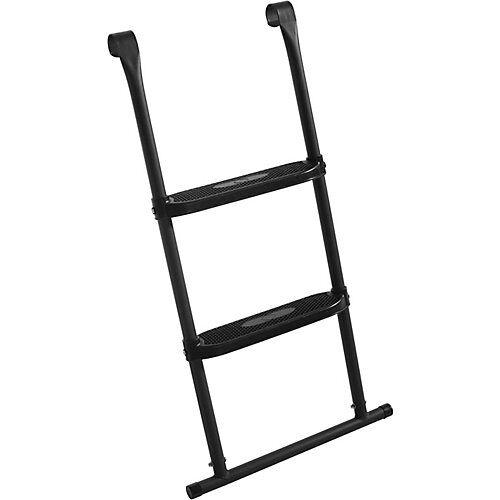 Salta Leiter Trampolin - 2 Sprossen - 82 x 52 cm schwarz  Kinder