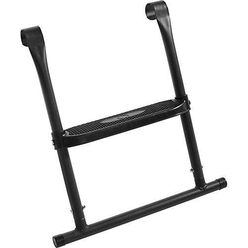 Salta Leiter Trampolin - 1 Sprosse - 55x52cm schwarz  Kinder