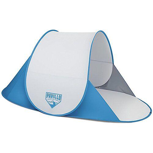 Bestway Pavillo™ Secura Beach Tent 192x120x85 cm, Strandmuschel, selbstaufbauend blau/weiß