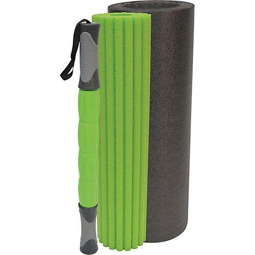 Schildkröt Funsports Massage Roller 3-in1 grün/anthrazit