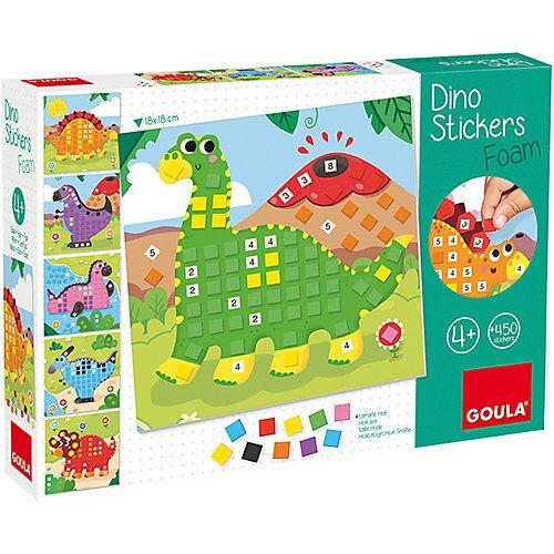 Goula Mosaikset Schaumstoff-Sticker Dino
