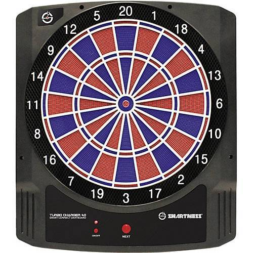 Smartness Elektronik Dartboard Turbo Charger 4.0 Smart Connect Dartboard, mit App Steuerung