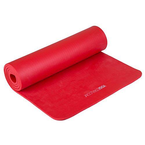 Yogistar Pilates Basic Basis-Yogamatten rot