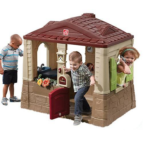STEP2 Spielhaus Neat & Tidy Cottage II braun
