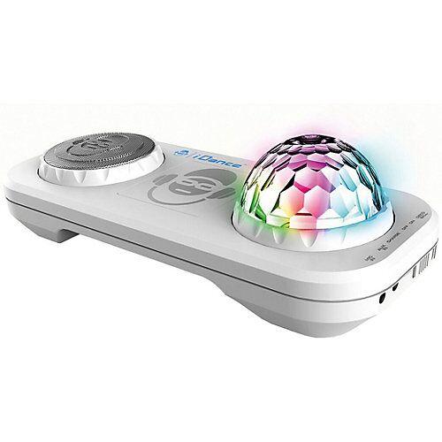 bigben Partybox mit Mixer, Discokugel & Bluetooth XD2 weiß