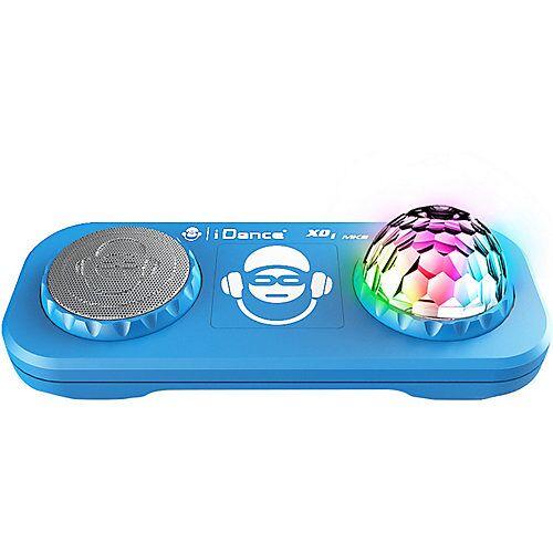 bigben Partybox mit Mixer, Discokugel & Bluetooth XD2 blau