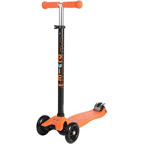 micro Twist-Scooter maxi micro mit T-Lenker, orange