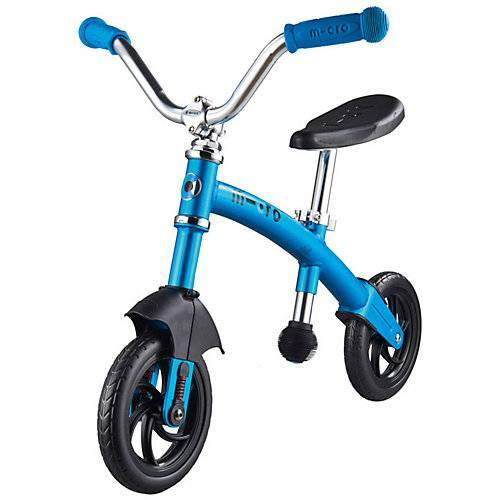 micro Laufrad G-Bike Chopper deluxe, blau