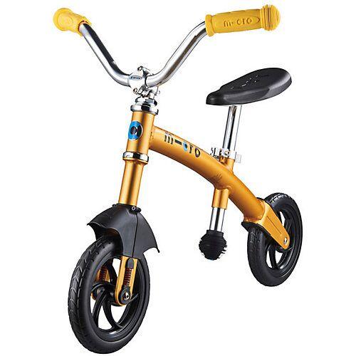 micro Laufrad G-Bike Chopper deluxe, gelb