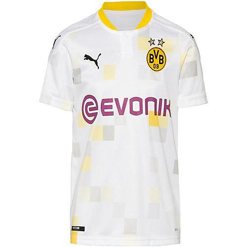 PUMA Trikot Borussia Dortmund 20-21 3rd Trikots Kinder weiß  Kinder