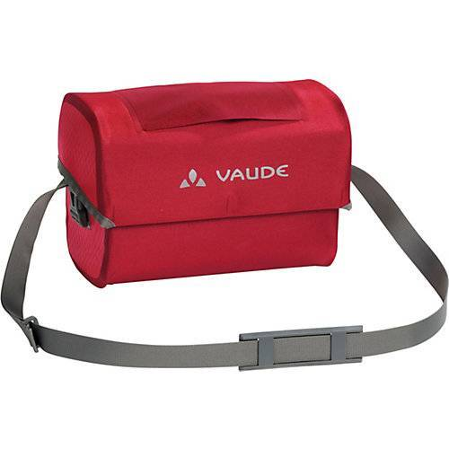 VAUDE Kinder Fahrradlenkertasche Aqua Box, 6L rot