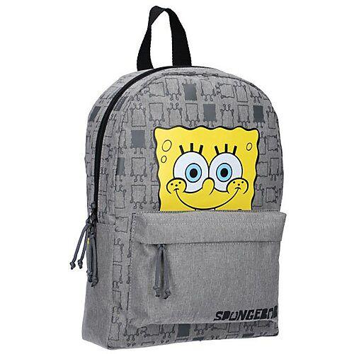 VADOBAG Freizeitrucksack SpongeBob grau/gelb
