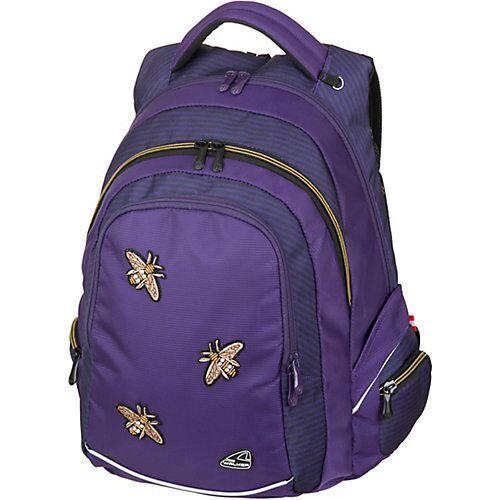 Schulrucksack FAME Bee violett