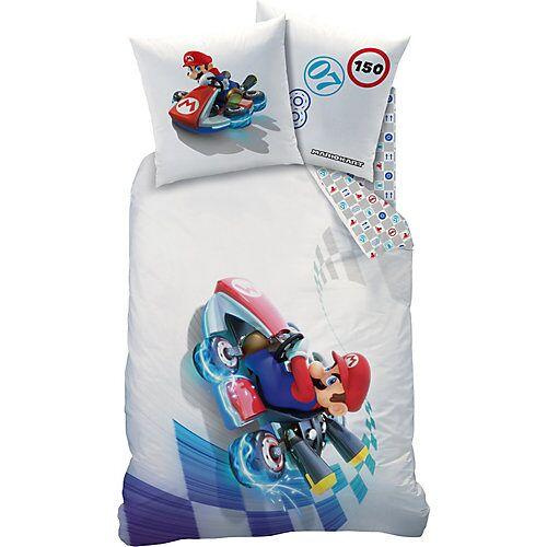 CTI Kinderbettwäsche Mario Kart, Speed, 80 x 80 cm + 135 x 200 cm