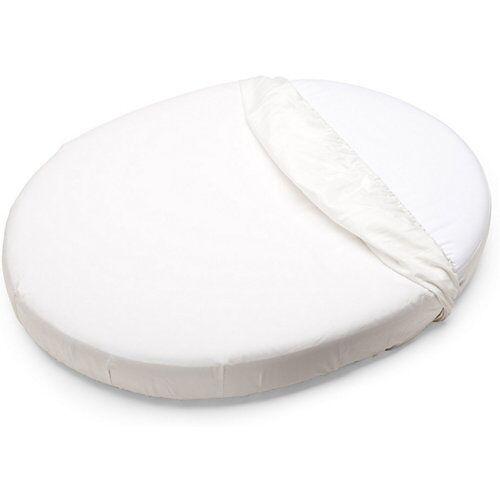 Stokke Sleepi™ Mini Spannbettlaken, 80 cm, White weiß