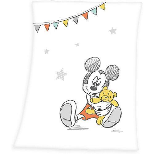 Herding Kuscheldecke Mickey Mouse, 75 x 100 cm