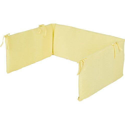 Pinolino Nestchen Kinderbetten, Jersey, gelb  Kinder
