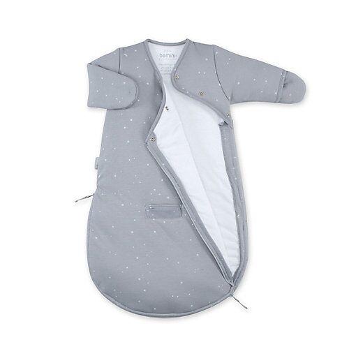 bemini Schlafsack 0-3 Monate Pady Jersey tog 3.0 Babyschlafsäcke grau