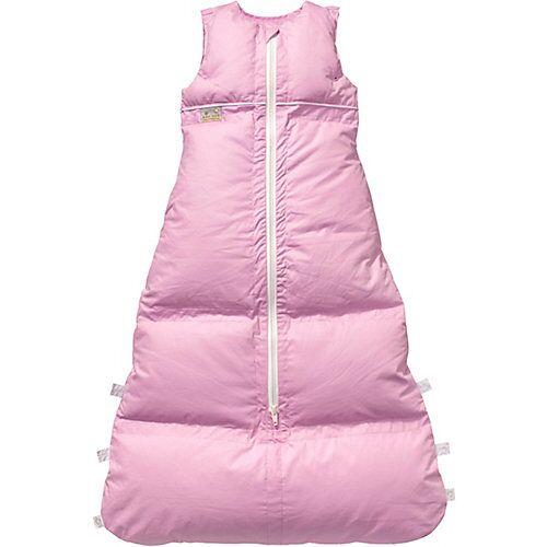 Artländer Winter-Schlafsack Vario Basic, Daunen, rosa, 130 cm