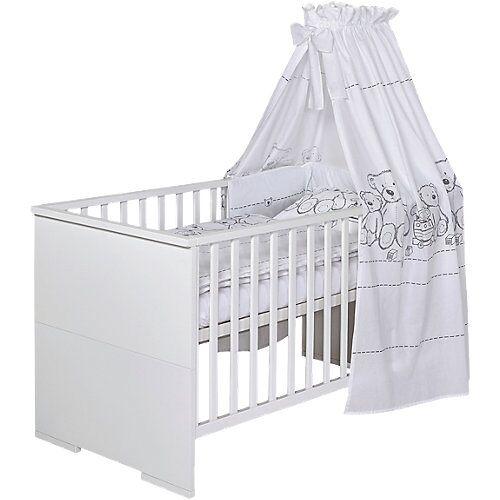 Schardt Kombi-Kinderbett Maxx White, 70 x 140 cm, weiß