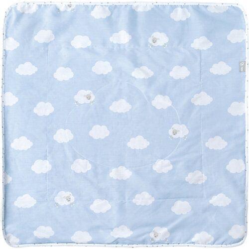 Roba Babydecke Kleine Wolke, blau, 80 x 80 cm