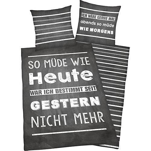 Herding Wendebettwäsche Müde Renforcé, 135 x 200 cm