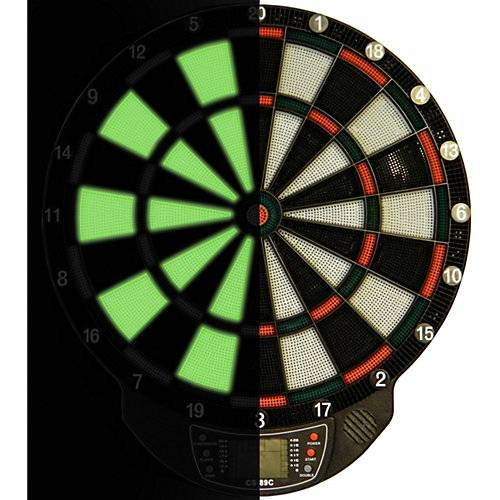Best Sporting Dartboard Glow in the dark WINDSOR mehrfarbig