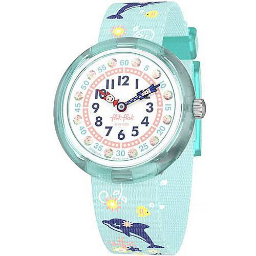 FLIK FLAK Kinder Armbanduhr türkis