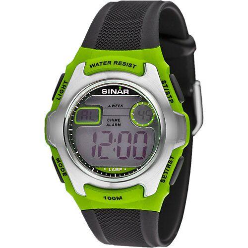 Sinar Armbanduhr Digital grün