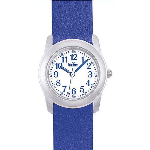 Scout Kinder Armbanduhr blau