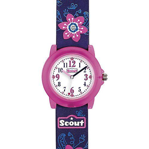 Scout Kinder Armbanduhr lila