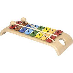 Voggenreiter Das wunderschöne Glockenspiel (Holzglockenspiel mit Metallplatten, diatonisch, 2 Schlägel)