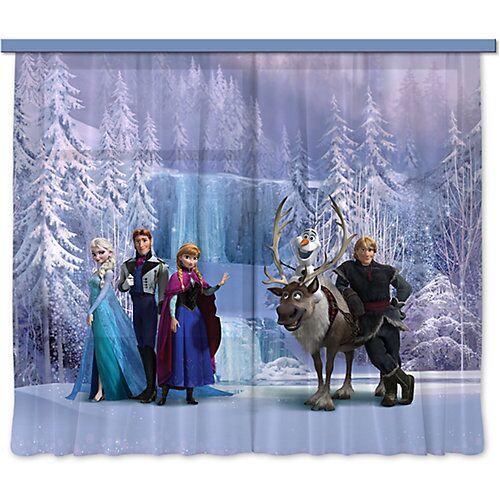 AG Design Vorhänge Disney Frozen, 180 x 160 cm