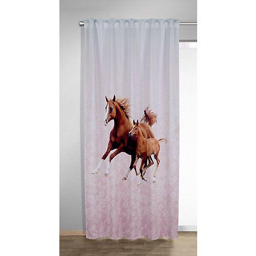 Vorhang Schal, DO, dd braun, 245 x 135 cm