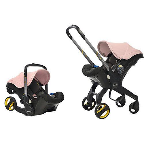 doona Fahrbare Babyschale Doona+, Blush Pink / rosé rosa-kombi