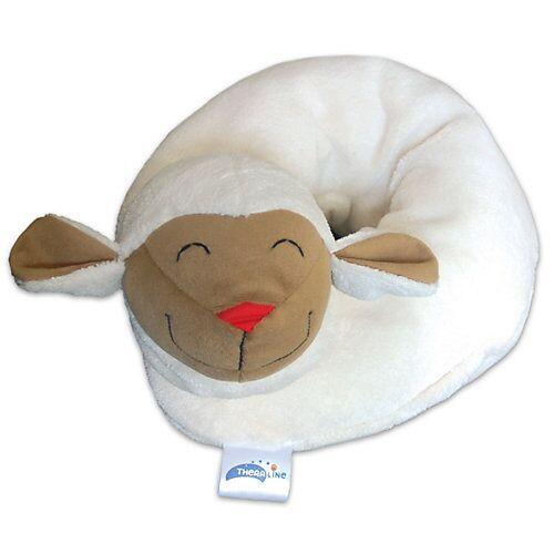 Theraline Baby Nackenkissen Schaf, 65 cm x 10 cm weiß