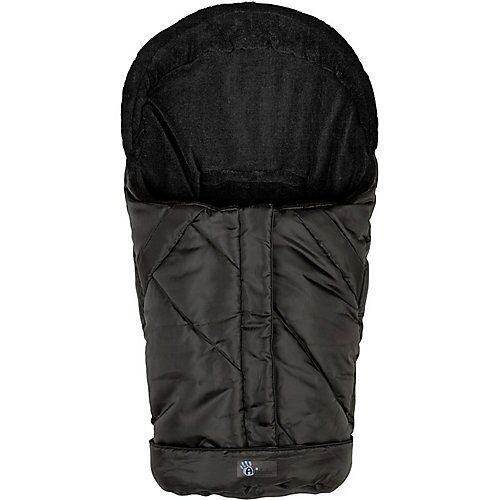 Altabebe Fußsack Fleece Babyschale und Kinderwagen, schwarz  Kinder