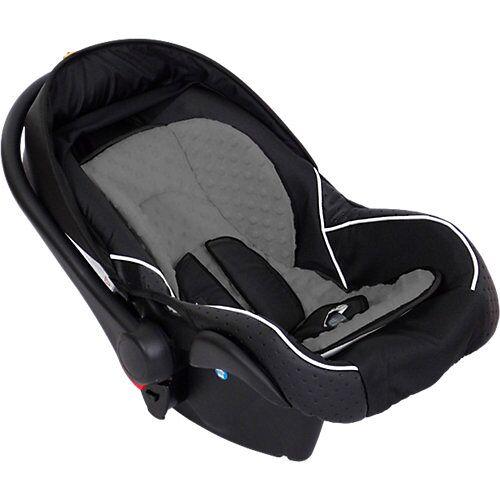 Zekiwa Babyschale Comfort, schwarz/grau