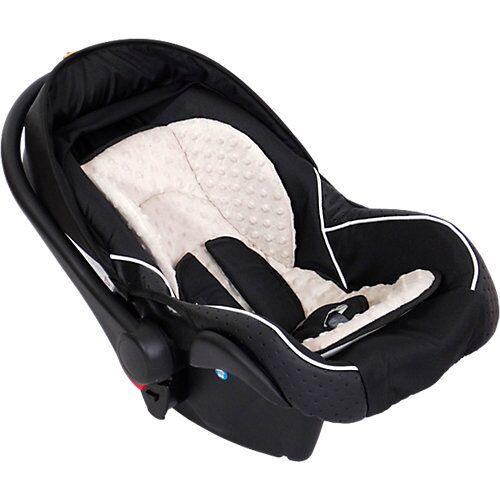 Zekiwa Babyschale Comfort, schwarz/beige
