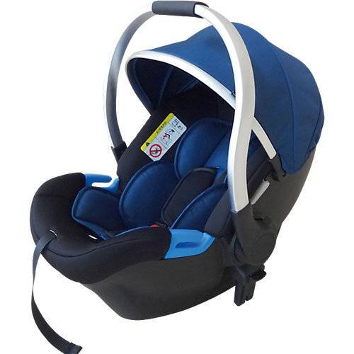 knorr-baby Babyschale FOR YOU, blau-silber blau/silber