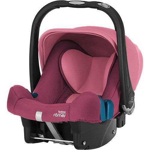 Britax Römer Babyschale Baby-Safe Plus SHR II, Wine Rose rosa