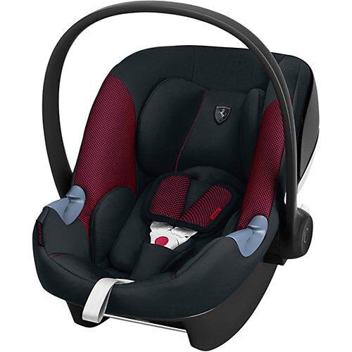 CYBEX Babyschale Aton M i-Size, Scuderia Ferrari, Victory Black schwarz