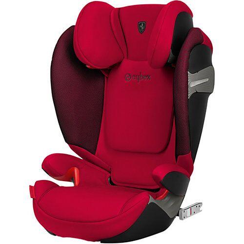 CYBEX Auto-Kindersitz Solution S-Fix, Scuderia Ferrari, Racing Red rot