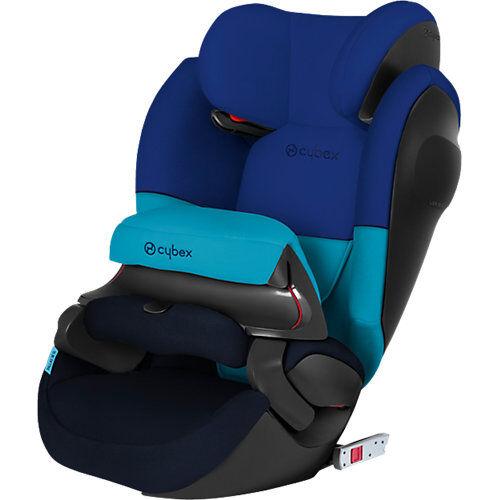 CYBEX Auto-Kindersitz Pallas M-Fix SL, Silver-Line, Blue Moon-Navy Blue blau