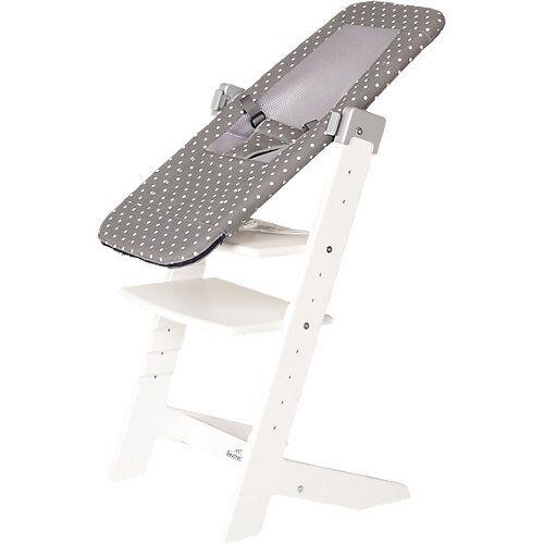 Geuther Babyliege/Hochstuhl-Aufsatz Sit'n Sleep inkl. Adapter grau