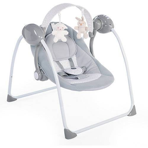 CHICCO Babyschaukel Relax & Play, Cool Grey